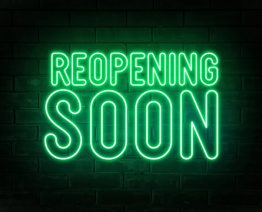 Reopening soon